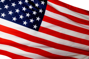 American flag - a symbol of freedom and independence