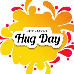 International Hug Day.