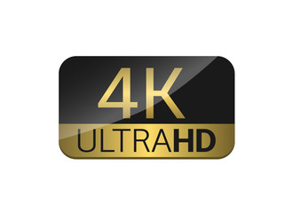 4K TV screen