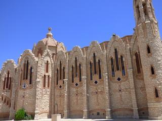 Iglesia de Novelda parecida a Sagrada Familia de Gaudi. Novelda es un pueblo de España situado en la provincia de Alicante, en la comarca del Medio Vinalopó