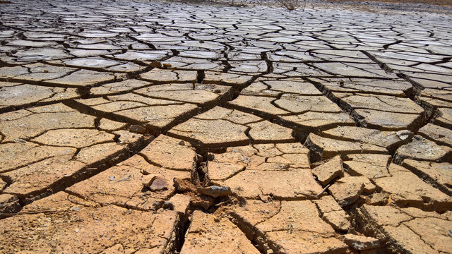 Drought on the earth