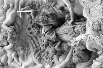 Ornate Religious Sculpture Carving