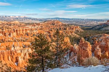 Bryce Canyon Utah Winter Landscape