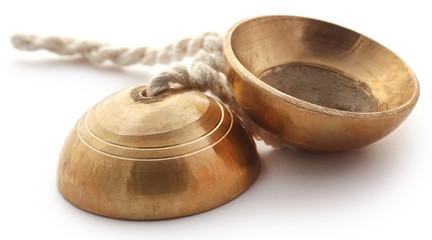 Indian musical instrument named as Manzira