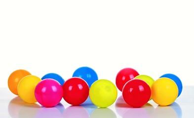 children colourful play balls