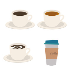 コーヒー 紅茶 イラスト