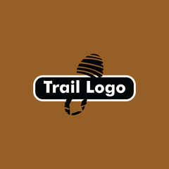 Trail Logo Vector Template Design