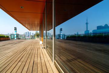 Wooden Walkway, Shanghai.