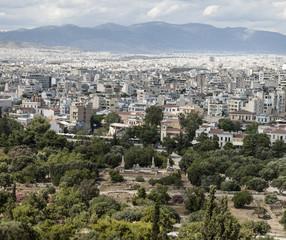 vista panoramica di Atene - Grecia