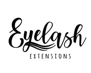 Eyelash extension logo