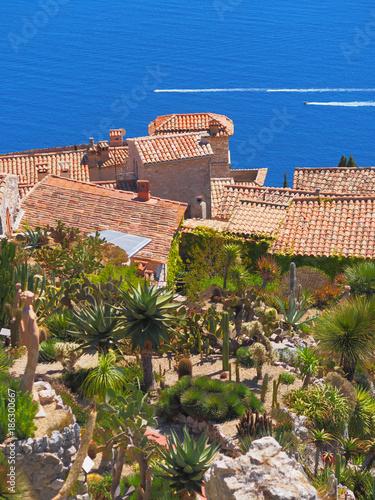 Le Jardin exotique d\'Eze / Cactus Garden & Rooftops - Nice, France ...