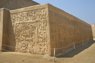 Huaca del Arco Iris - an archeological site located in the Peruvian city of Trujillo.