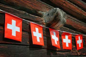 Schweizer Flaggenleine