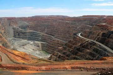 Super Pit Goldmine in Western Australia