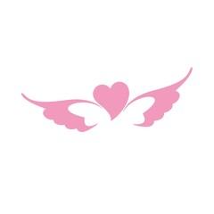 сердце крылья