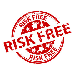 Rubber Stamp Seal - Risk Free