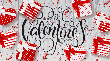 Web Banner for Happy Valentine's Day