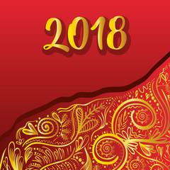 happy 2018 new year celebration