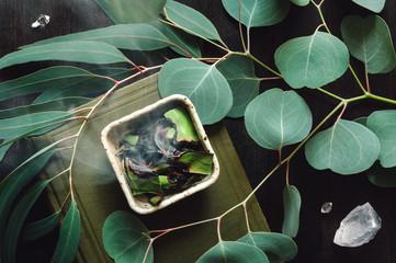 Eucalyptus Smudging