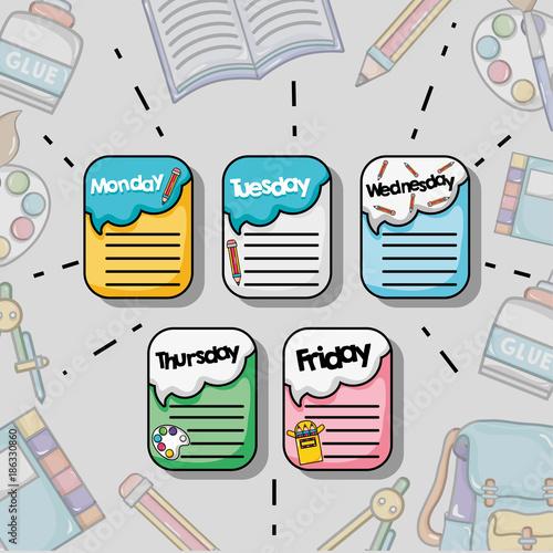 Calendar Design Tool : Quot school tool calendar design to education stock image and