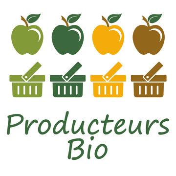Logo producteurs bio.