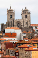 Porto cathedral in Porto, Portugal