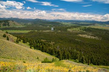 Fototapete - Signal Mountain View