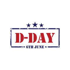 D-Day Vector Template Design