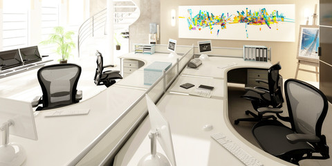 Modernes Büro-Konzept
