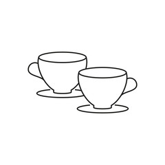 Two cups icon