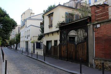 Paris - Ruelle fleurie
