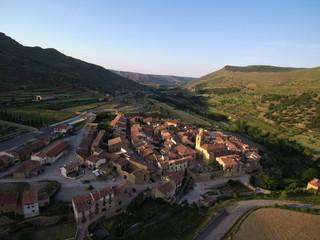 Mirambel. Pueblo bonito de Teruel (España)  en la comunidad autónoma de Aragón, de la comarca del Maestrazgo