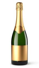 Bouteille de champagne vectorielle 3
