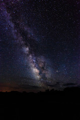 The Milky Way over Canyonlands