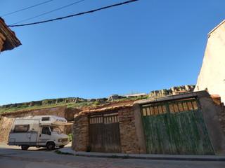 Valdelinares, pueblo de Teruel, en la comunidad autónoma de Aragón, España
