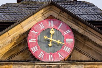 Uhr - Altes Rathaus Bamberg