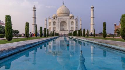 Late afternoon light on Taj Mahal, Agra, Uttar Pradesh, India