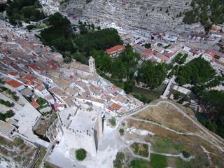 Alcalá del Júcar. Pueblo de Albacete (España), dentro de la comunidad autónoma de Castilla La Mancha