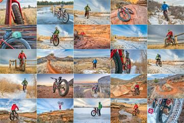 fat bike riding in northern Colorado