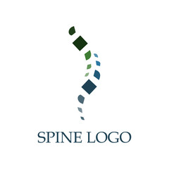 Spine Logo Vector Art