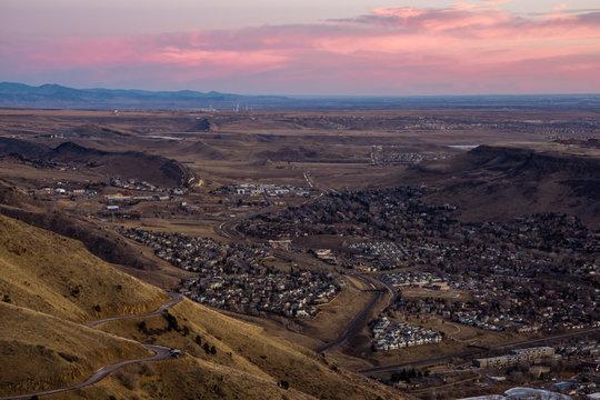 Golden, Colorado Sunrise