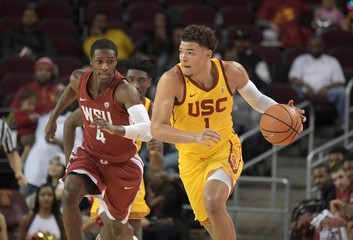 NCAA Basketball: Washington State at Southern California