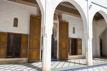 Bahia Palace in Marrakech, Morocco that you should have seen during your vacation