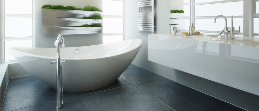 Modern Bathroom Adaptation (panoramic)