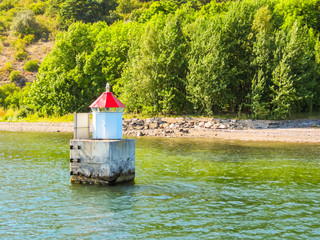 Small lighthouse in the
