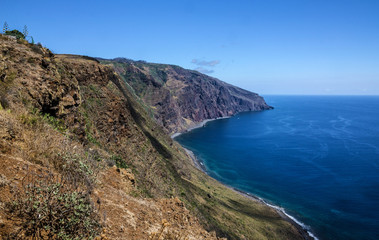 Madeira island seaside, Porto Moniz, Portugal