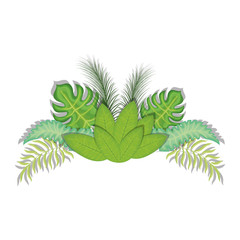 Leaves eco symbol