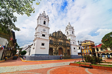 The Sacred Heart Cathedral at Old Panama (Panama City)