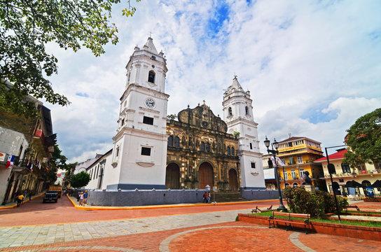 The Sacred Heart Cathedral at Old Panama (Panama City)