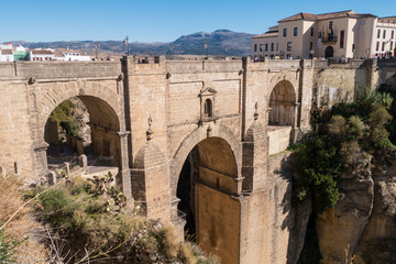Puente Nuevo - Ronda - Stadt in Andalusien